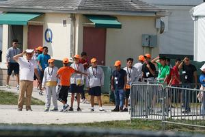 Unaccompanied child migrant detention center in Florida