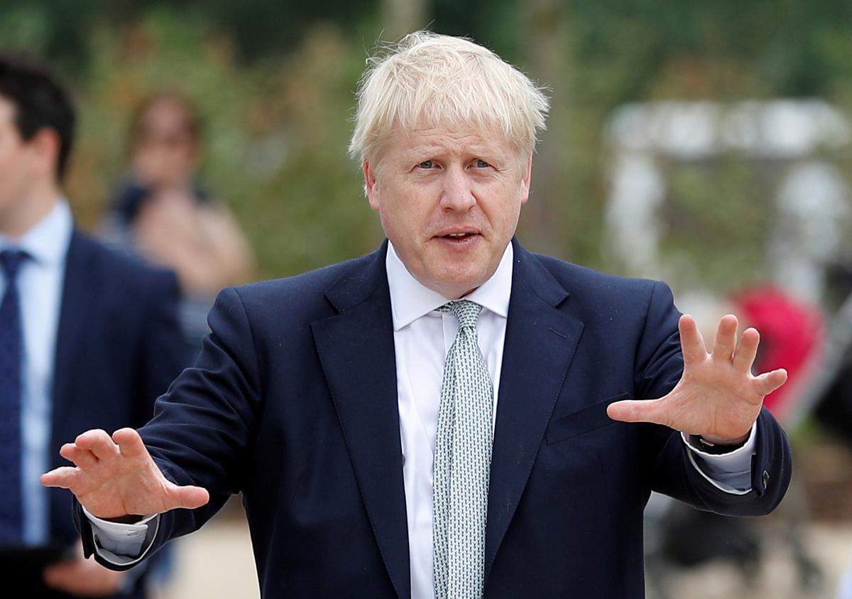 Genius or joker? British PM favorite Johnson set to face the world