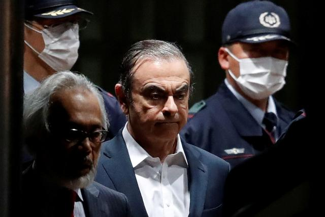 Image result for Nissan ex-chief Ghosn to hold press conference in Tokyo at 1200 GMT