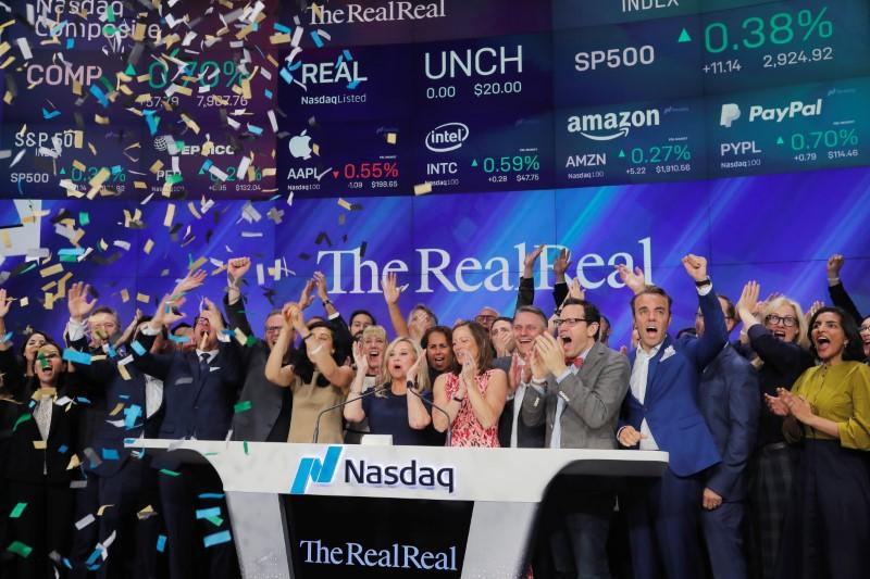 52867f3b896 Luxury online reseller The RealReal closes up more than 40% in debut ...