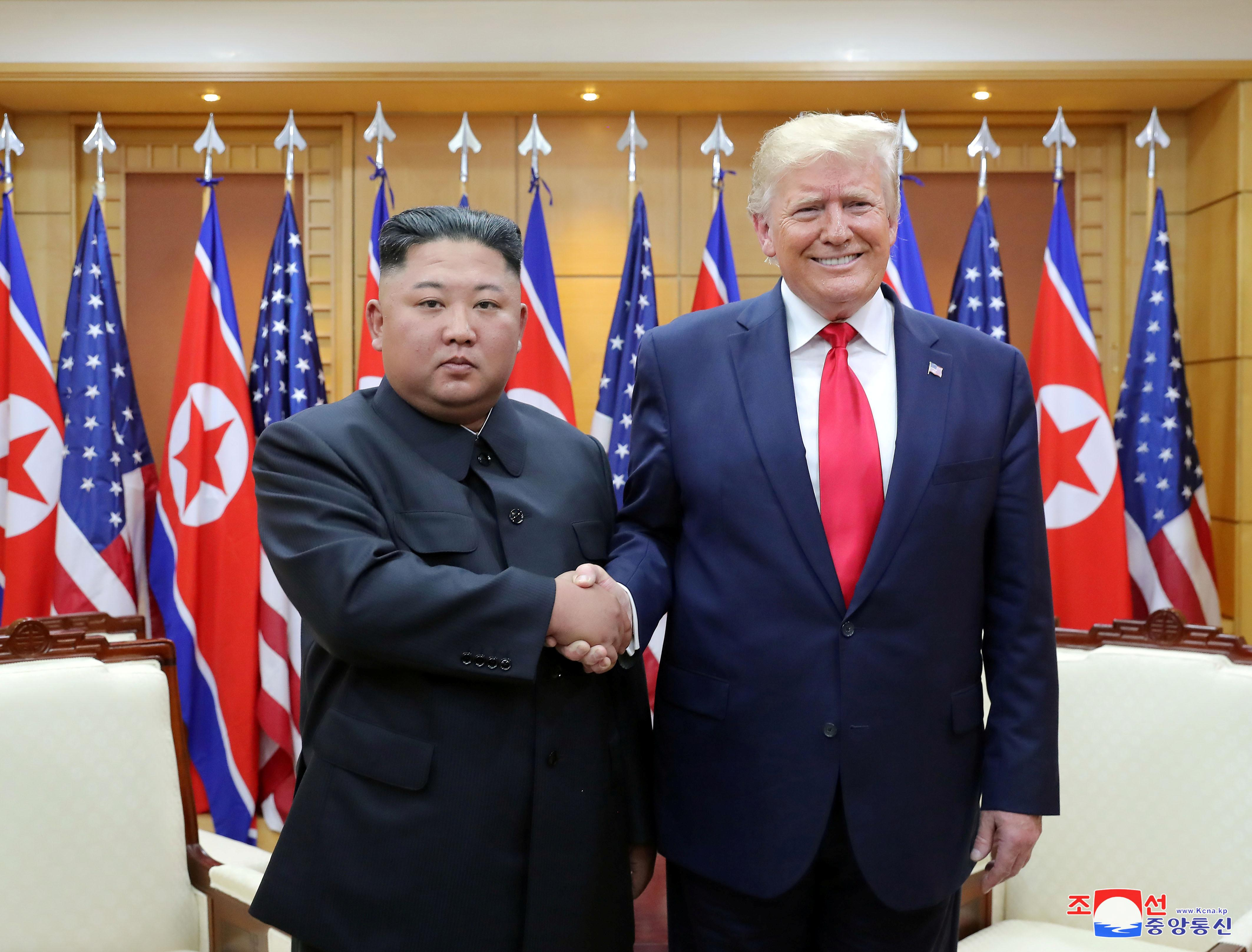 China welcomes surprise meeting between Trump and North Korea's Kim