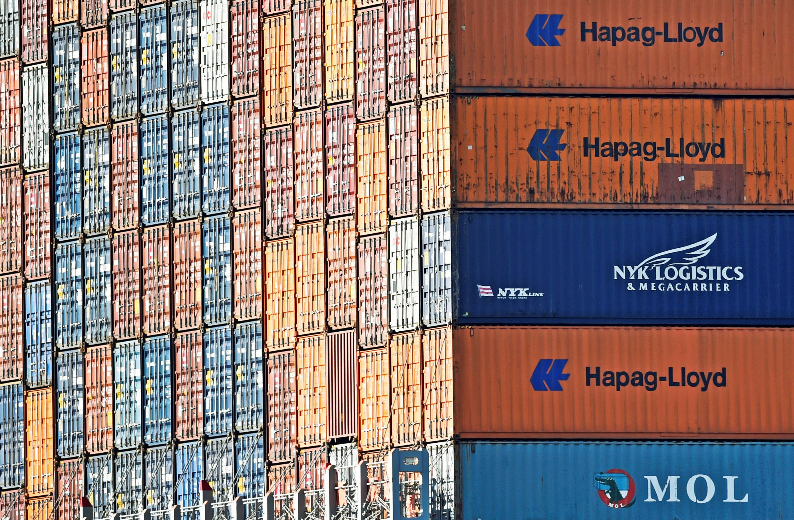 Germany's export-dependent industry feels pain of trade conflicts