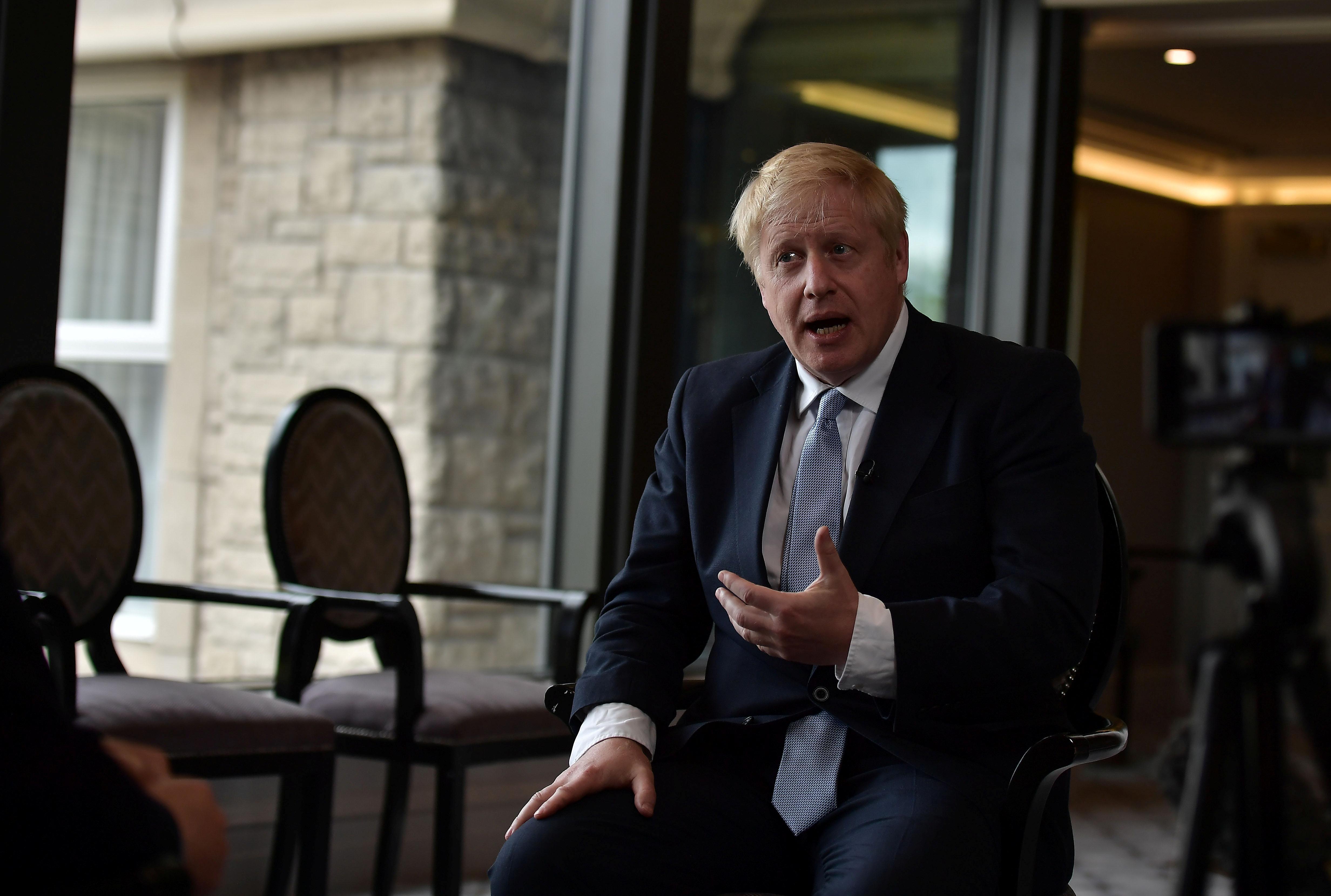 UK's Boris Johnson: I am like a lightsaber-wielding Jedi Knight
