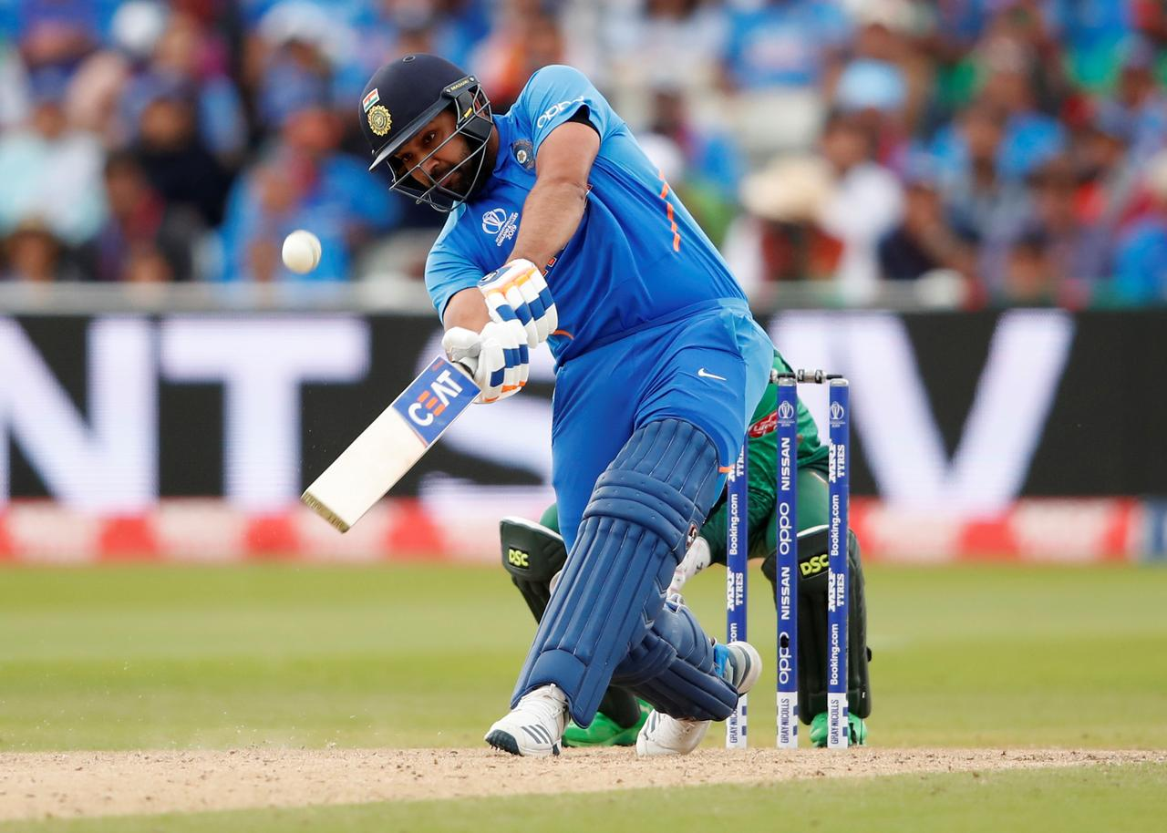 Rohit tonne powers India to 314-9 against Bangladesh - Reuters