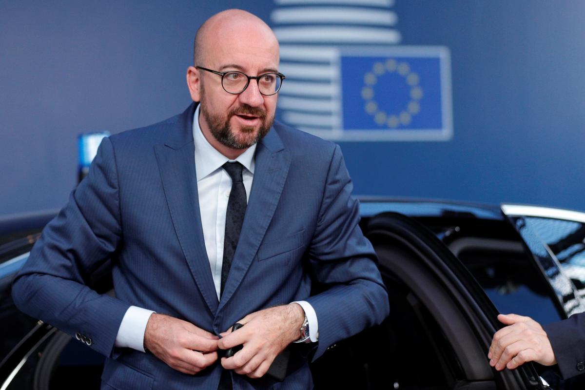 A man in a hurry: Belgium's PM Michel named EU Council chief