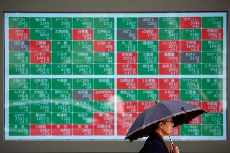Asian shares weaken as trade optimism fades