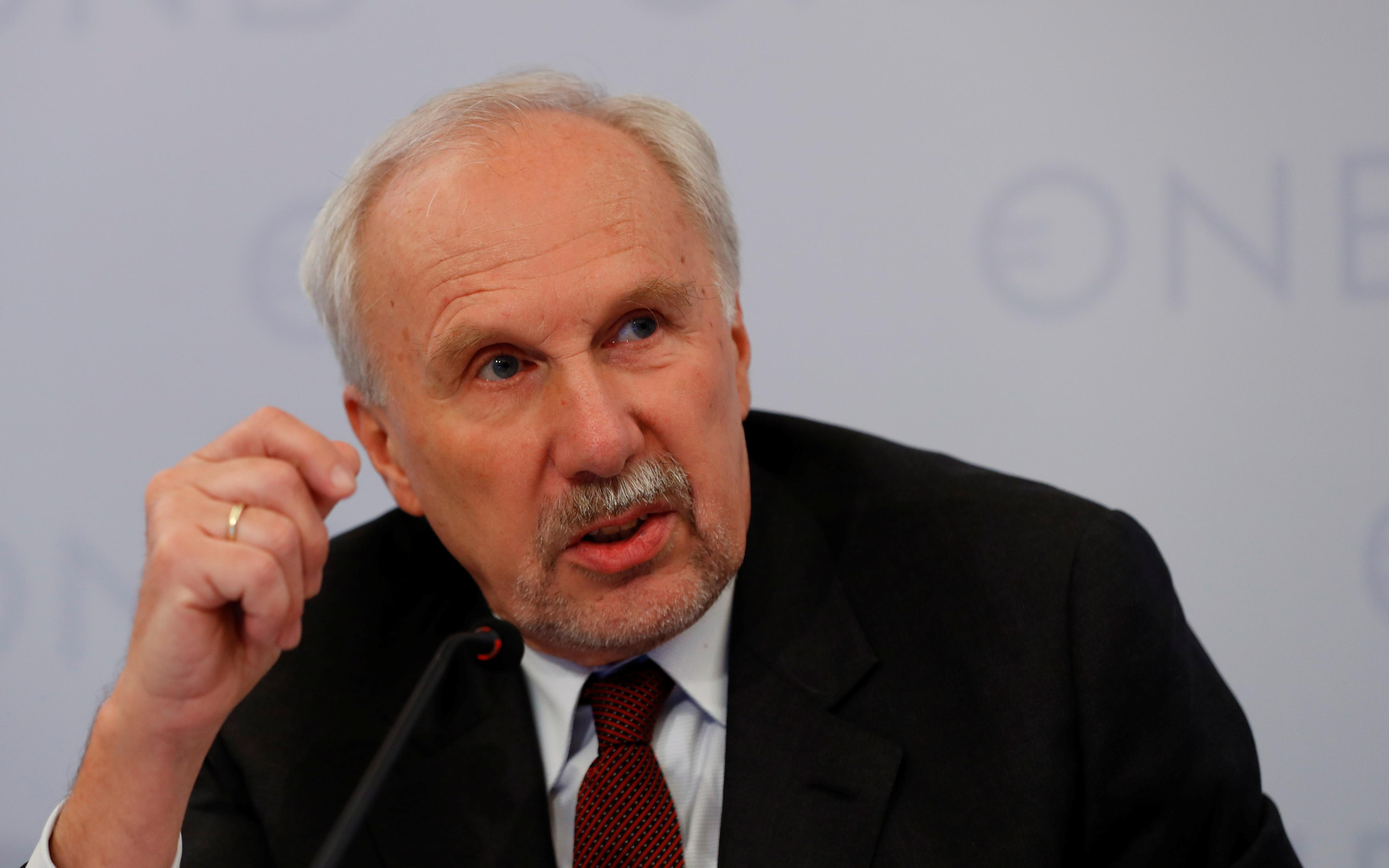 ECB's Nowotny says takes very positive view of Lagarde nomination