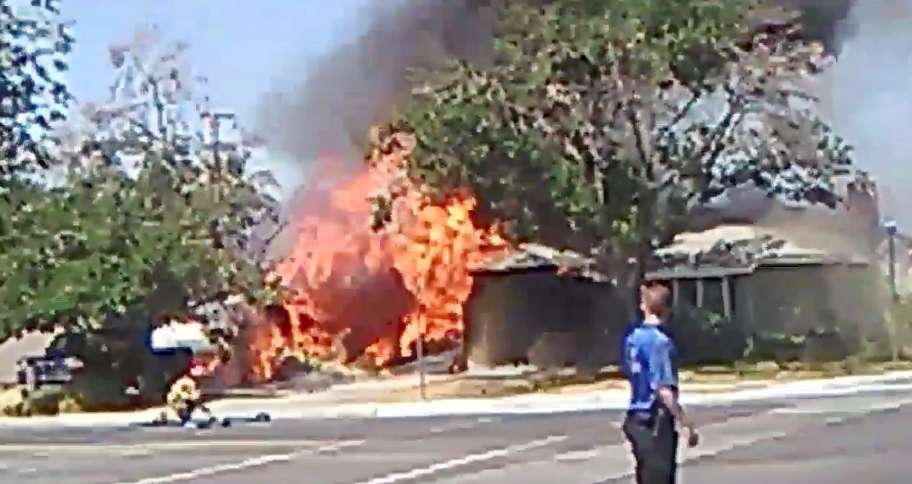 Un séisme grave sévit dans le sud de la Californie et fait quelques dégâts au nord-est de Los Angeles