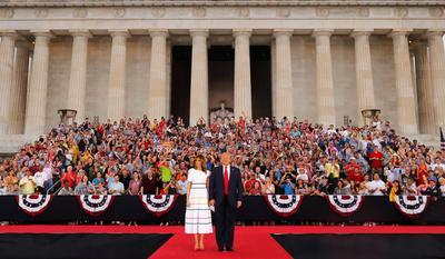 Trump's 'Salute to America'