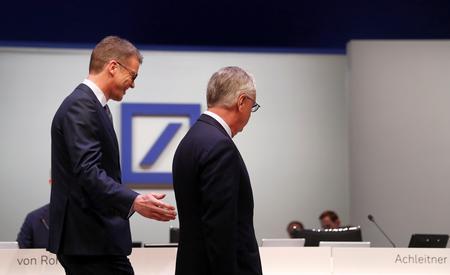 Deutsche Bank's investment bank chief exits in unfolding multi-billion dollar overhaul