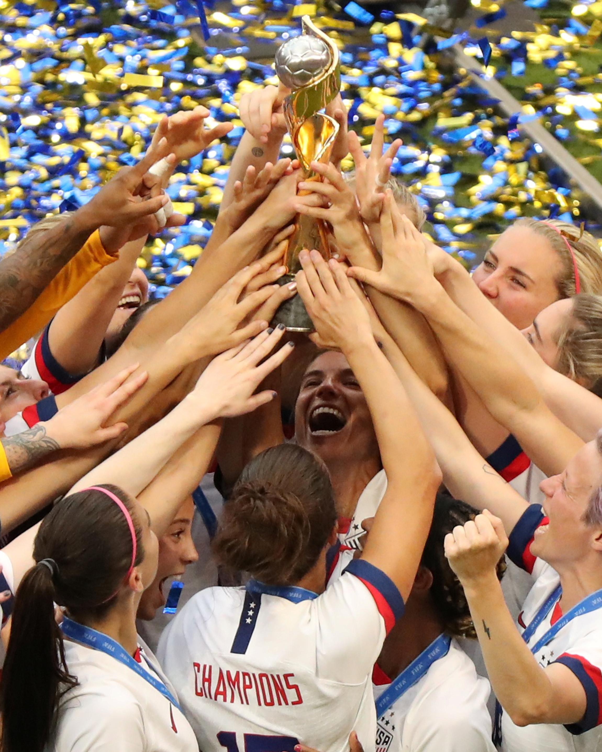 Rapinoe et Lavelle remportent leur quatrième titre en Coupe du monde aux États-Unis
