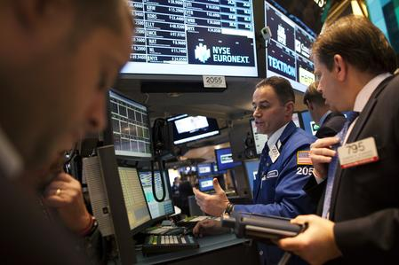 Global shares fall as prospect of sharp U.S. rate cut fades