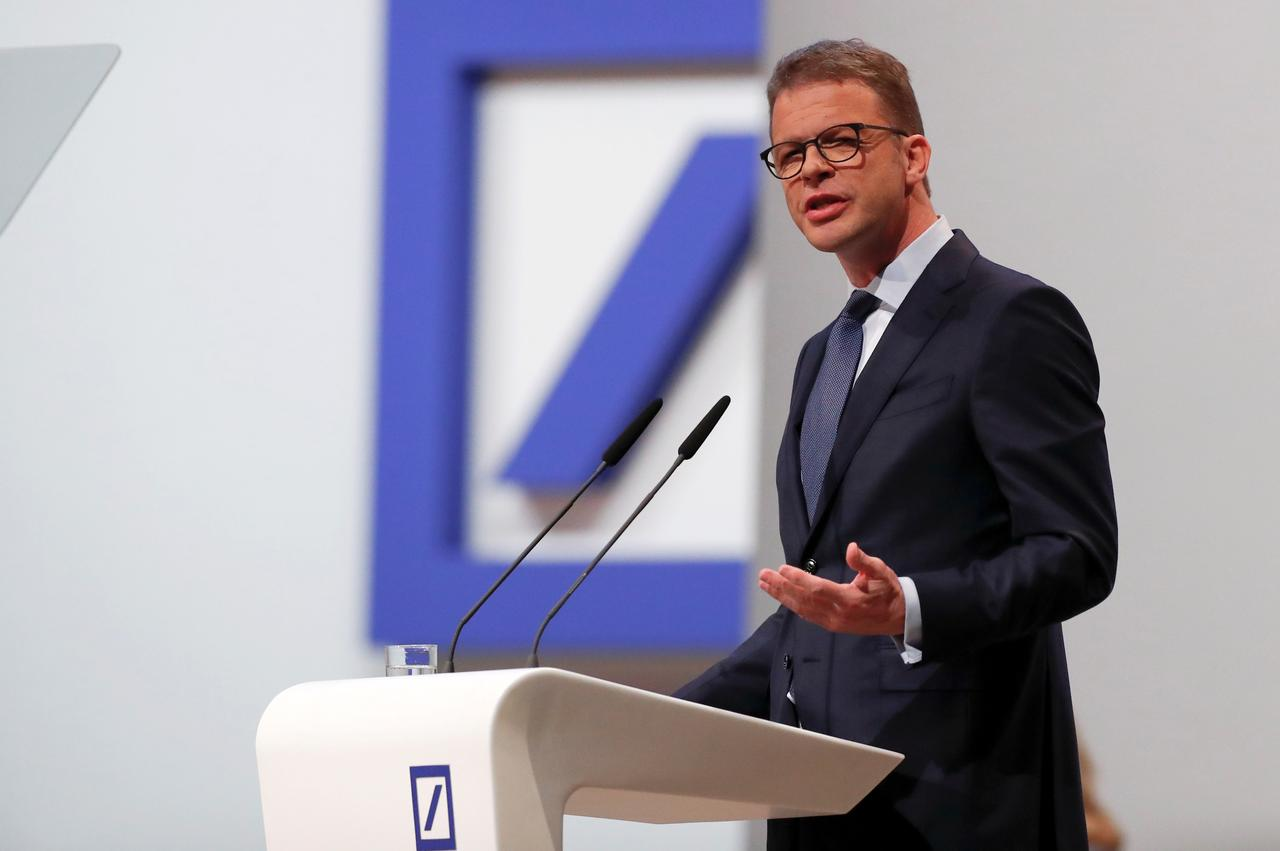 Deutsche Bank CEO to invest 25% of fixed salary in bank's