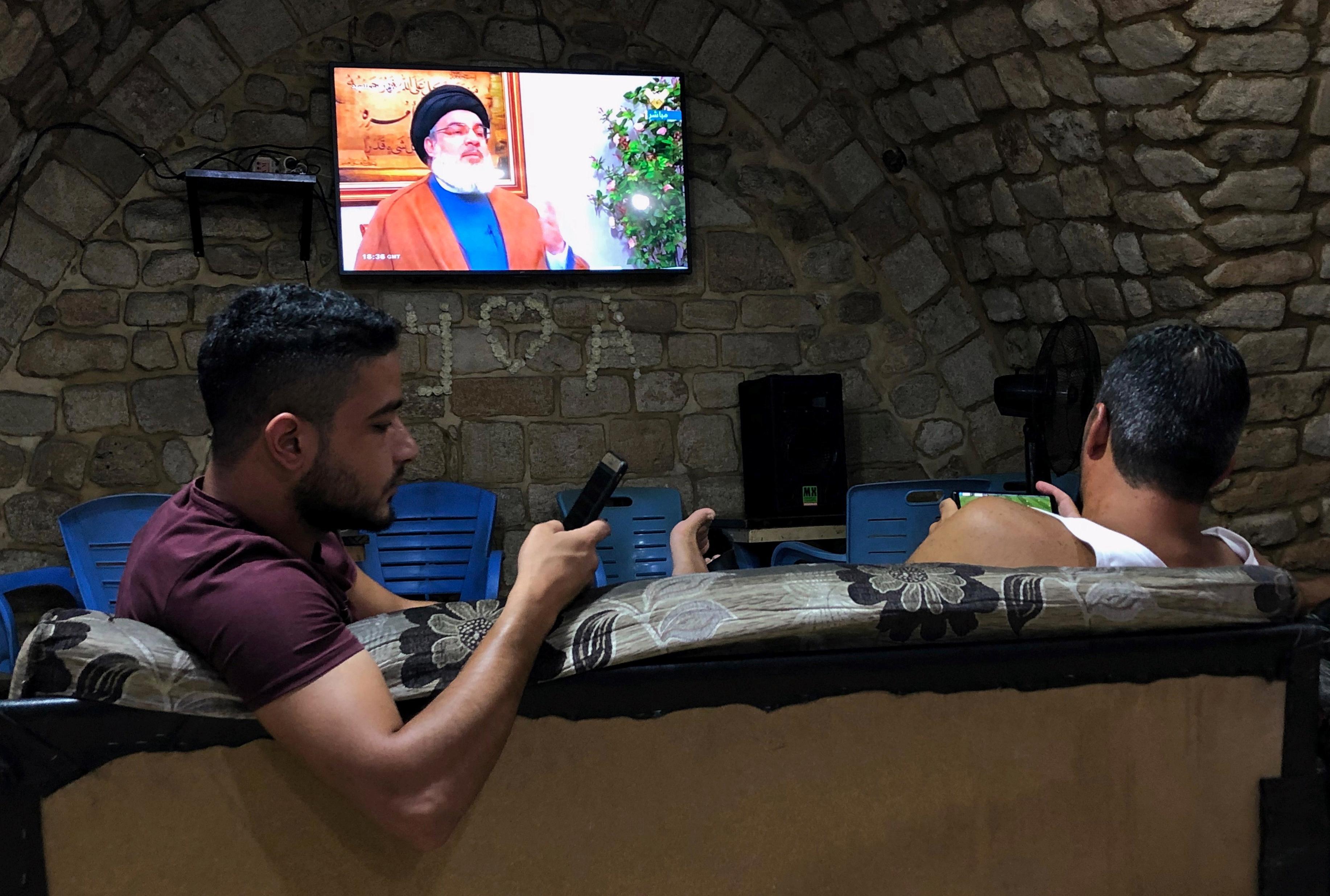 Hezbollah leader says U.S. seeking to talk