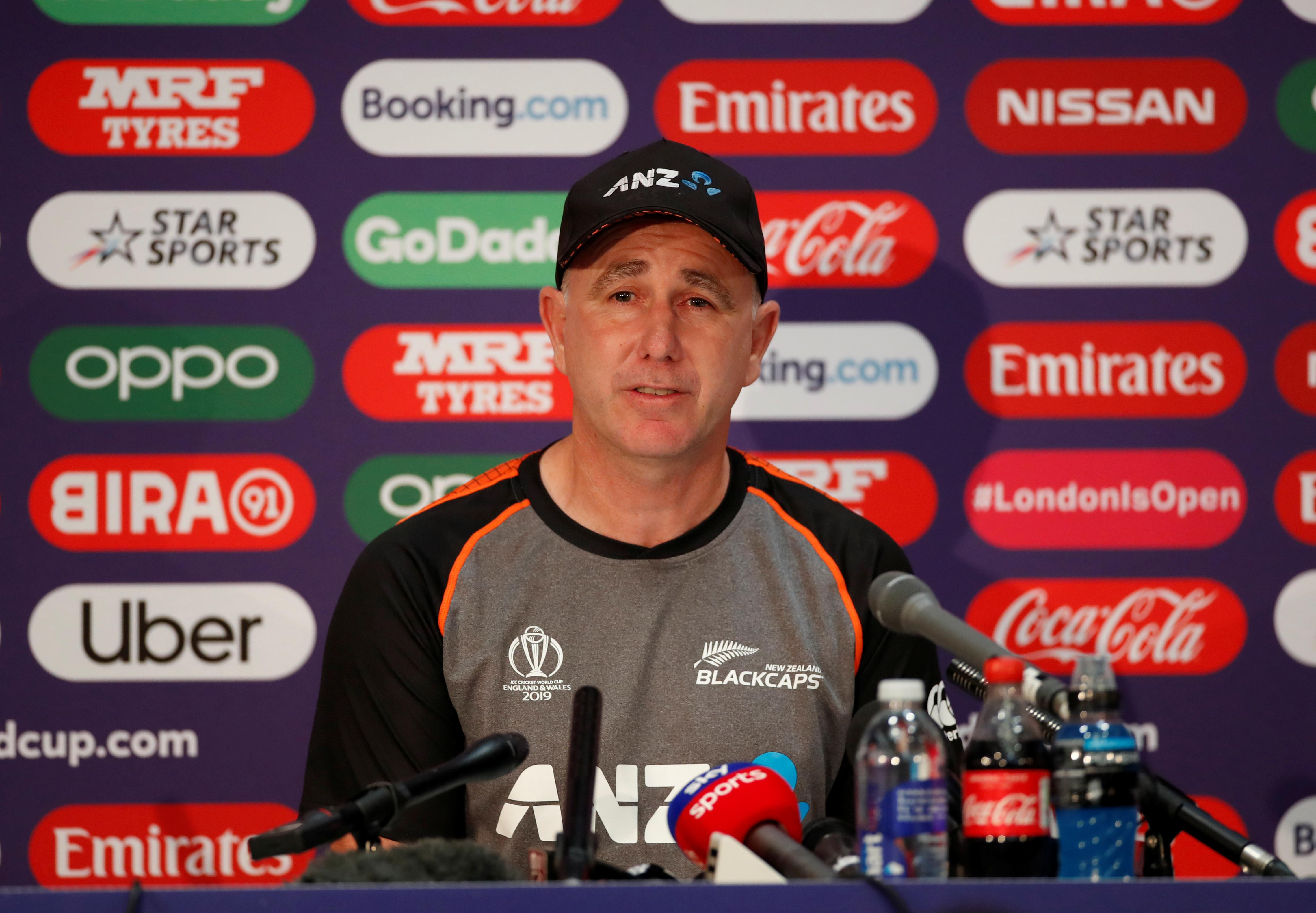 New Zealand coach says umpires are 'human' amid rule debate