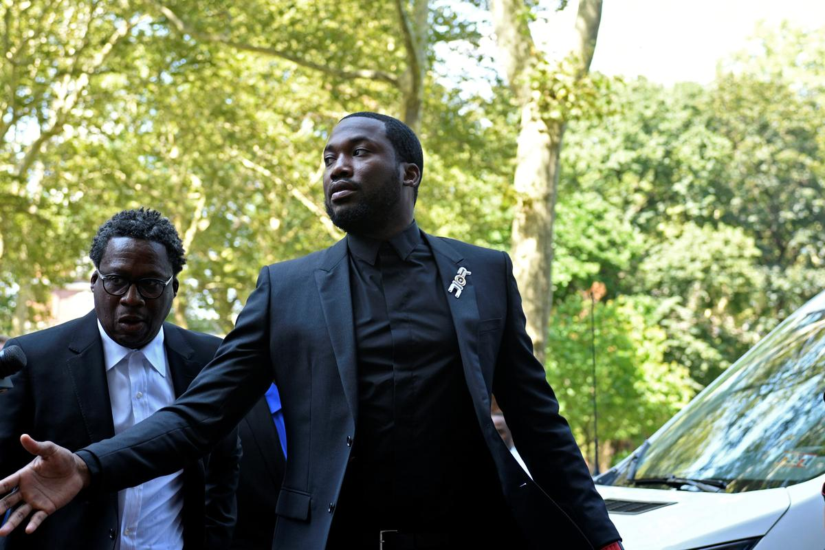 Rapper Meek Mill seeks new trial to end decade-long probation
