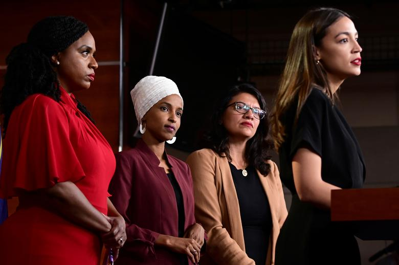 Alexandria Ocasio-Cortez, Ilhan Omar, and Ayanna Pressley Team Up Against Obama for Saying 'Defund the Police' is a 'Snappy Slogan That Alienates Voters'