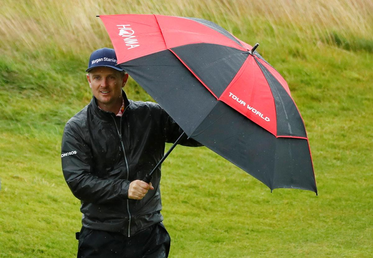 The rain invades the final Training Day in Portrush – shilfa