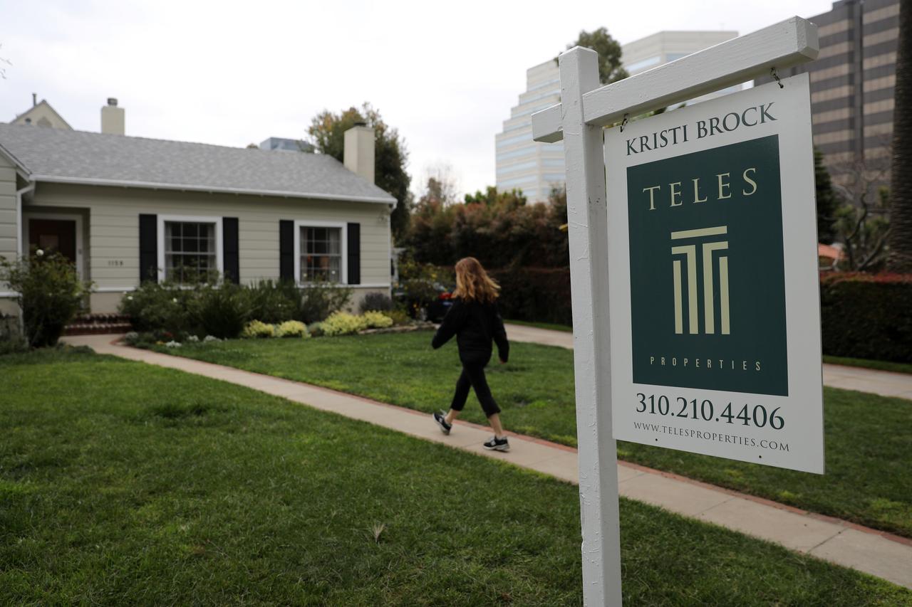 U S  housing starts fall