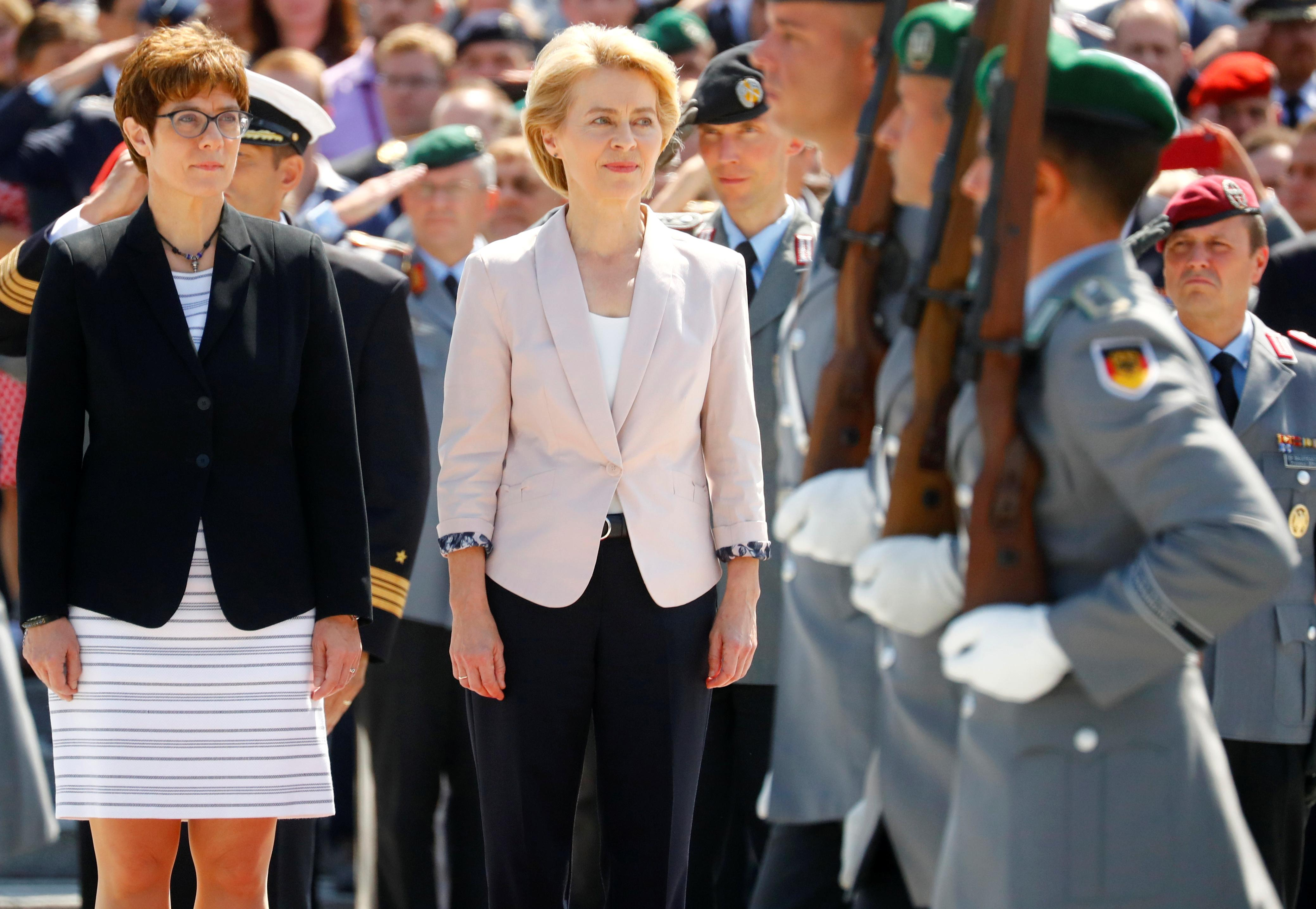 Path to power or poisoned chalice: Merkel protegee takes defense job