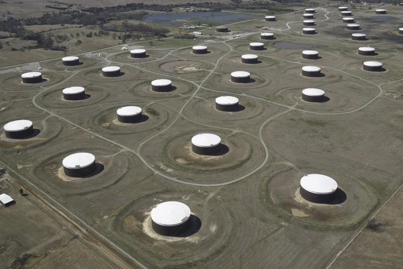 U.S. crude oil stockpiles drop amid Barry, fuel posts large builds: EIA