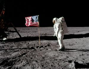 When we went to the moon