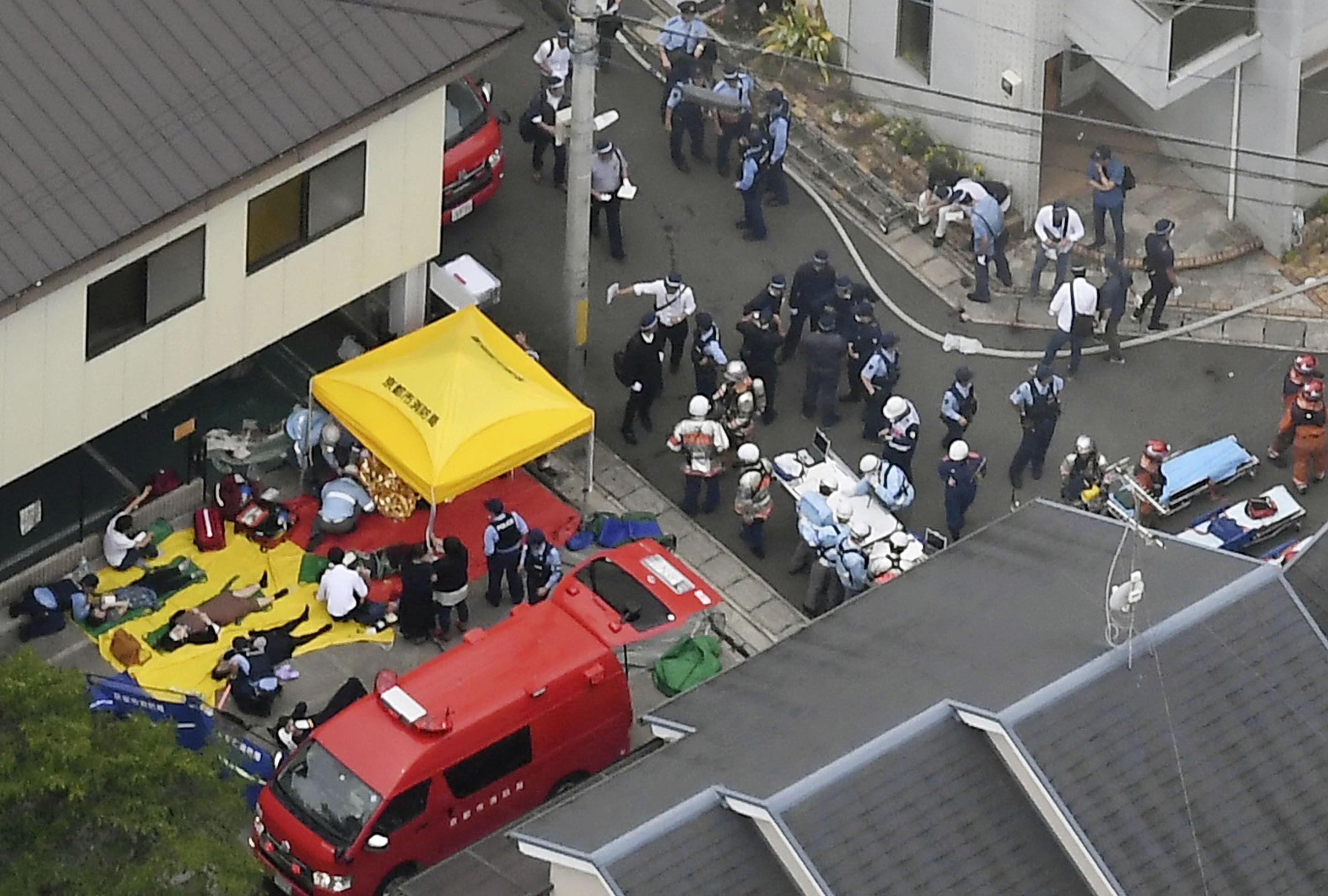 'Appalling' arson attack on Japanese animation studio kills at least 33