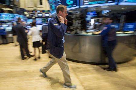 Wall St. set to open flat as trade worries weigh; Netflix tumbles