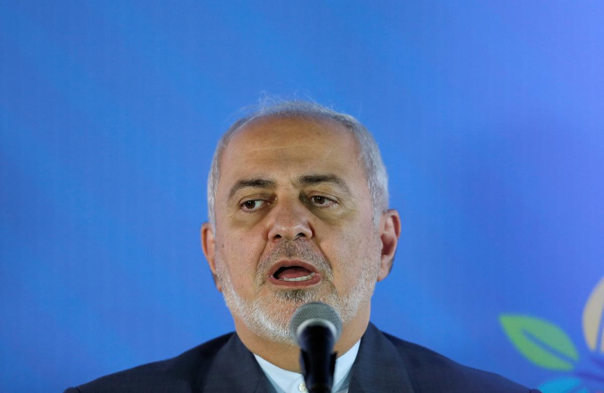 Iran's Zarif calls for 'prudence and foresight' as tensions mount