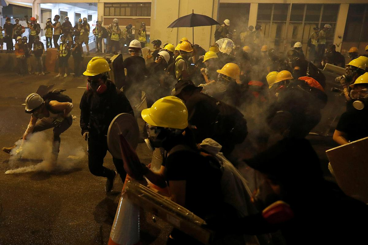 Triad gangster attack in Hong Kong after night of violent protests: lawmaker