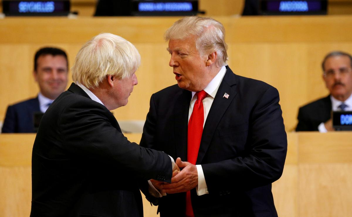 'Different kind of guy': Trump sees kindred spirit in Boris Johnson
