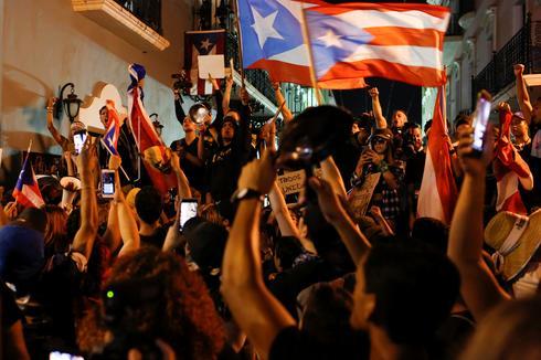 Protests in Puerto Rico