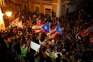 Puerto Rico celebrates as governor resigns