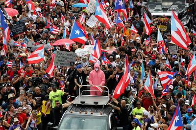 Puerto Rico celebrates as governor resigns