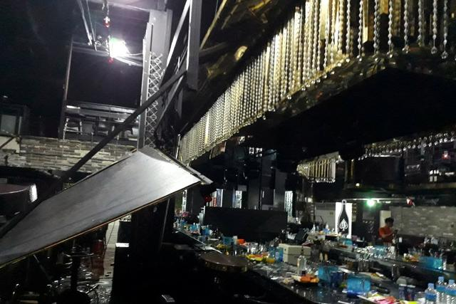 Club floor collapses in South Korea as athletes dance