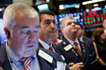 Wall Street falls as tech drags; Fed meeting eyed