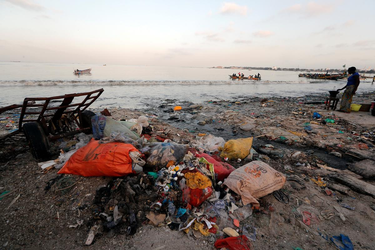 Image result for Senegal, One of the World's Biggest Ocean Polluters, Will Enforce Fines on Plastic Use