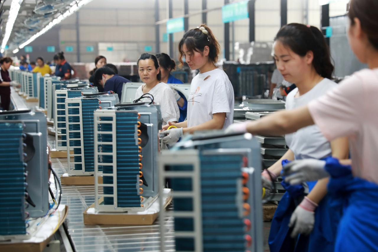 Trade war keeps China's factories in reverse gear for third month ...
