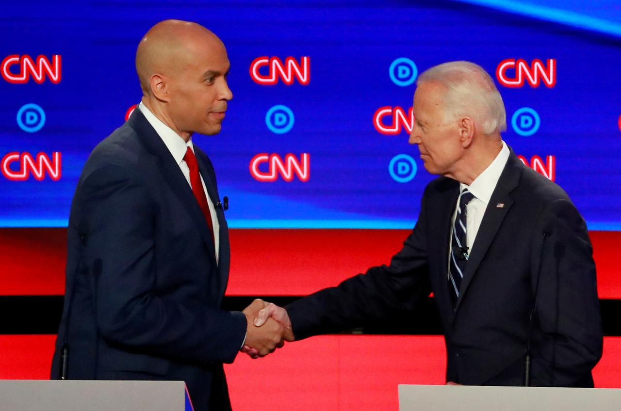 Cory Booker Endorses Joe Biden