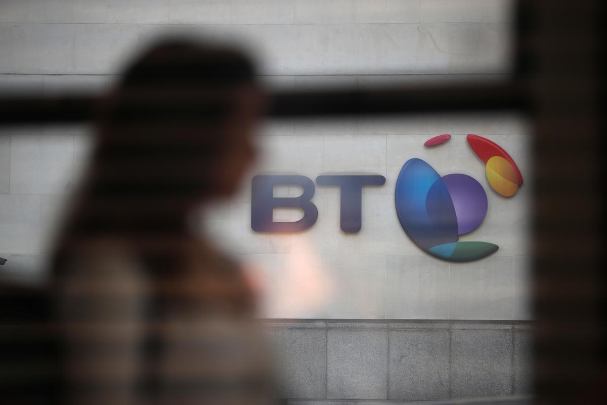 BT ready to play part in fiber roll-out, on track after first quarter