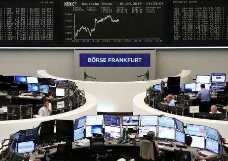 Trump tariff salvo batters European stocks, sparks bond rally