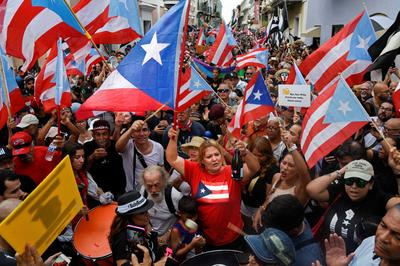 Puerto Rico celebrates as governor officially resigns