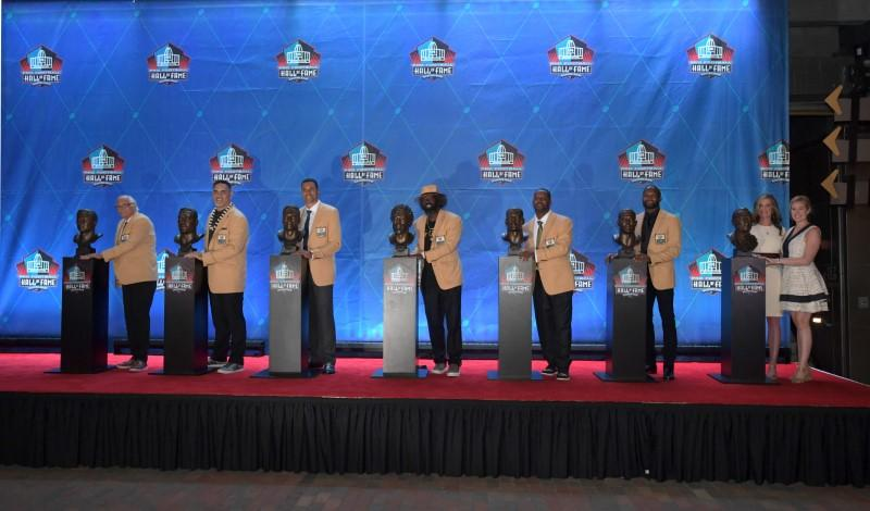 brand new f06da 25216 Hall of Fame welcomes Class of 2019 in emotional ceremony ...