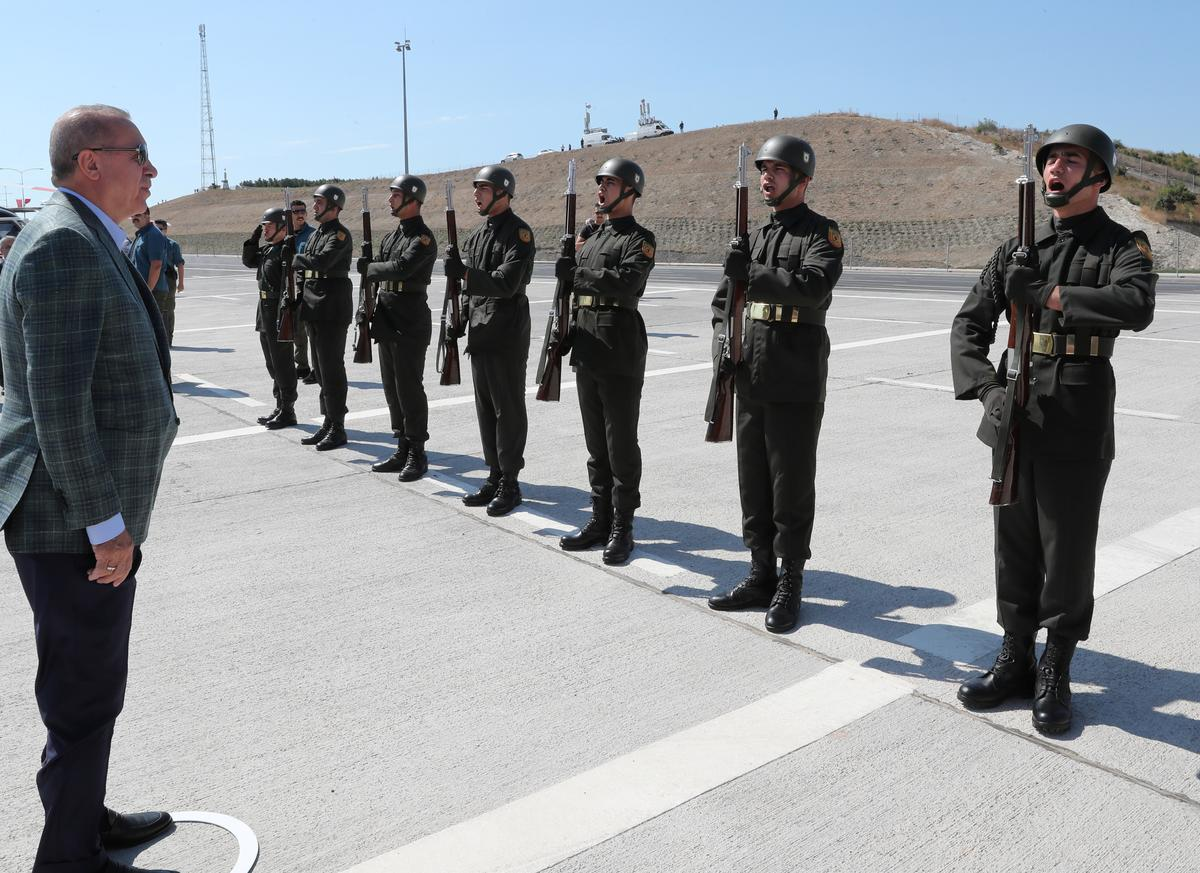 Turkey to launch offensive in Kurdish-controlled area in northern Syria: Erdogan