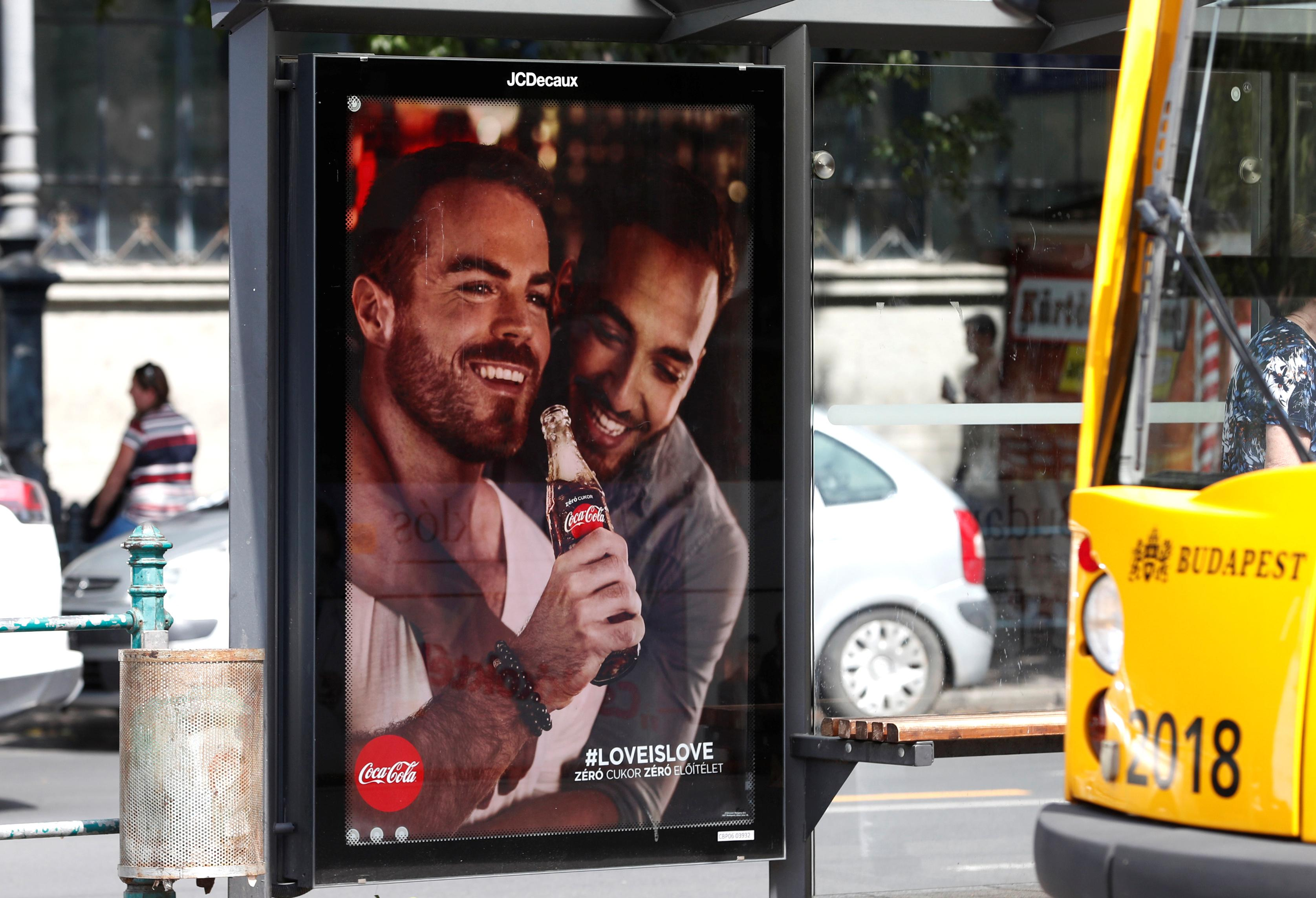 Coca-Cola ads promoting gay tolerance stir furore in Hungary