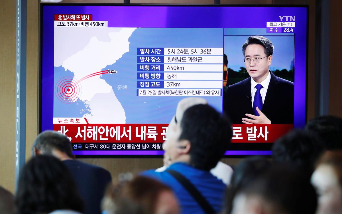 We will make them pay': North Korea launches missiles, condemns U S