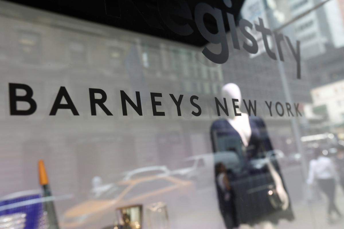 New York retail icon Barneys files for bankruptcy