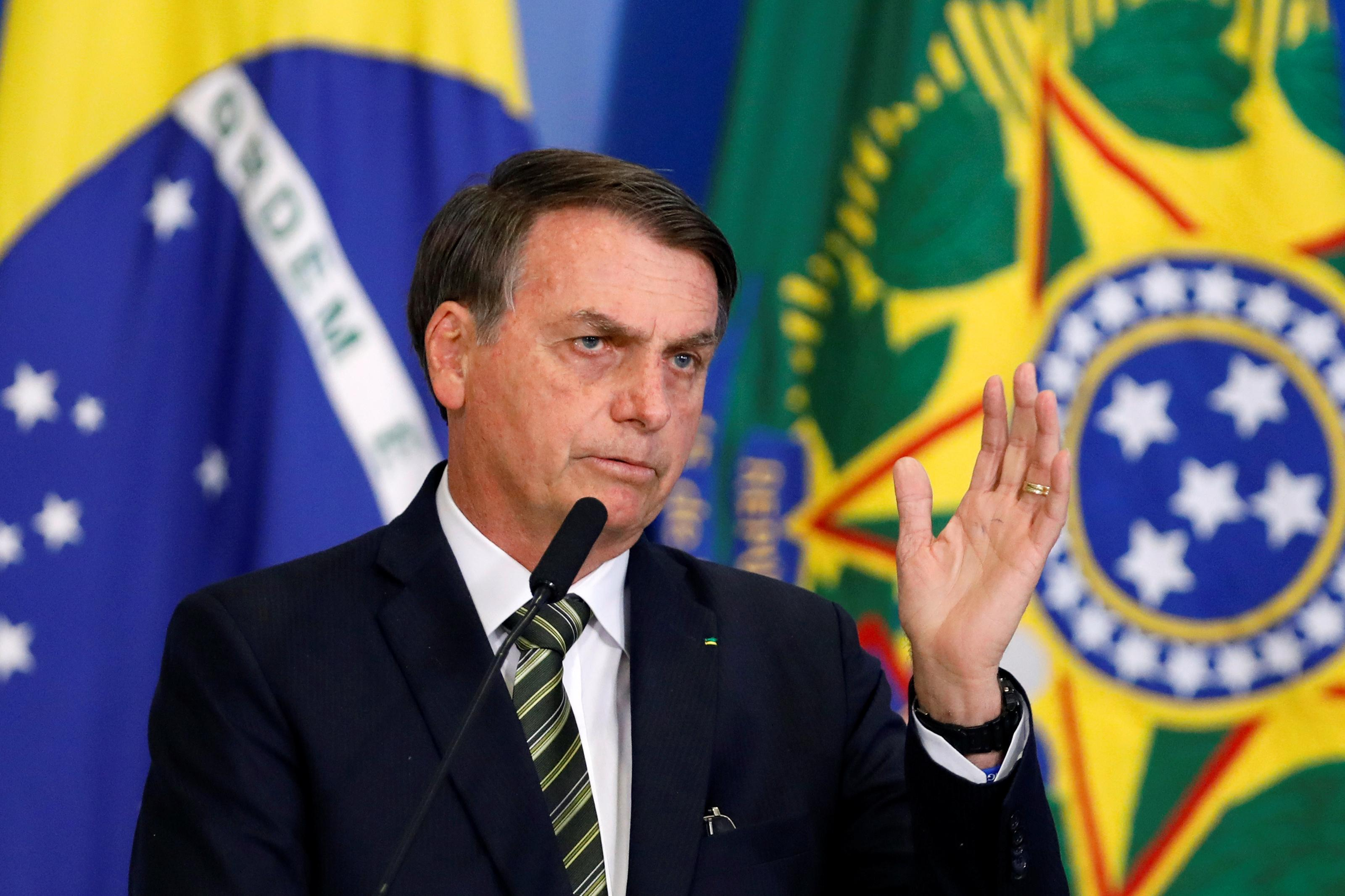 Brazil's Bolsonaro extols convicted torturer as a 'national hero'