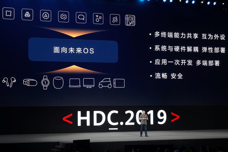 Huawei unveils Harmony operating system, won't ditch Android for