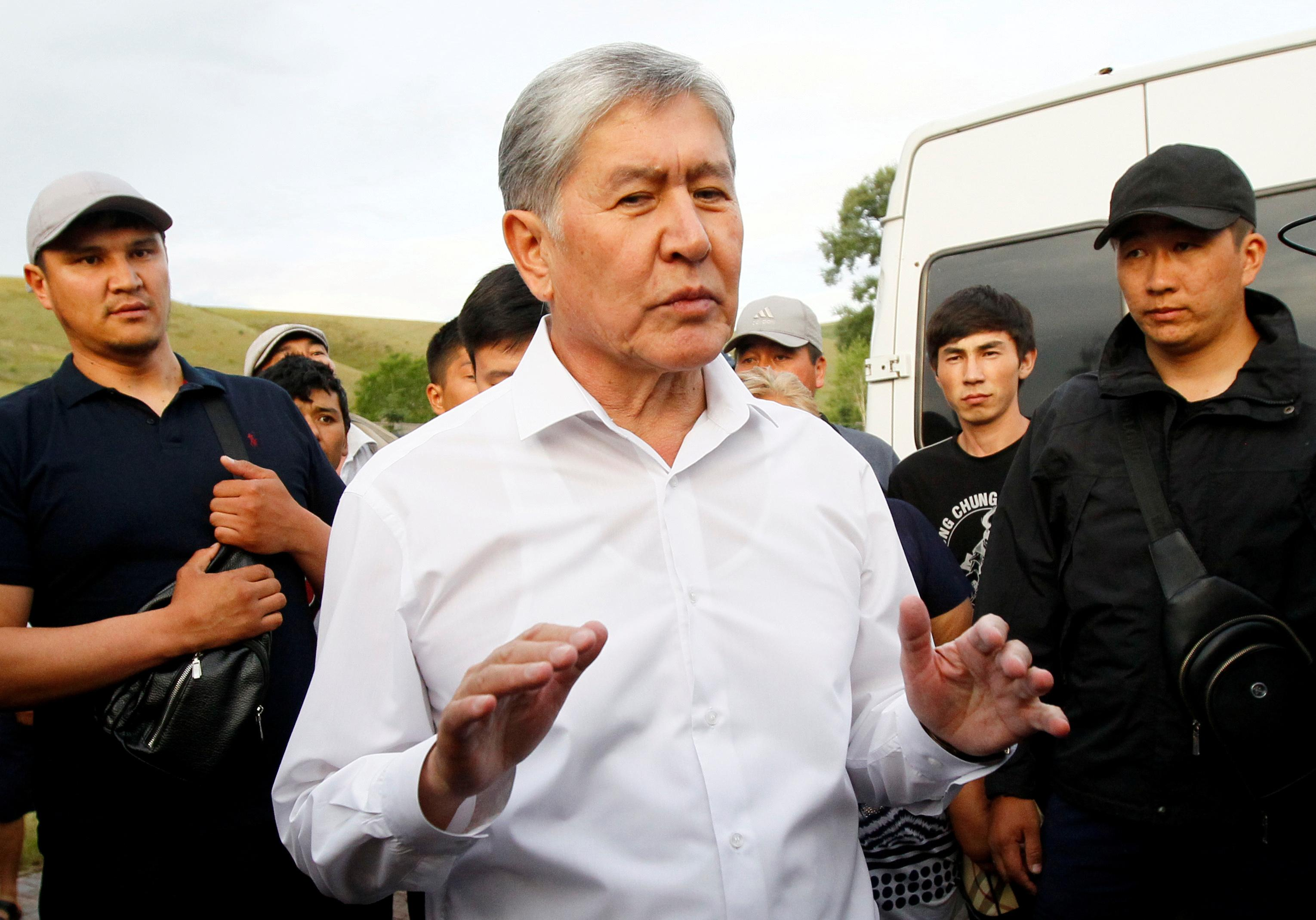 Kyrgyz ex-president Atambayev charged with corruption